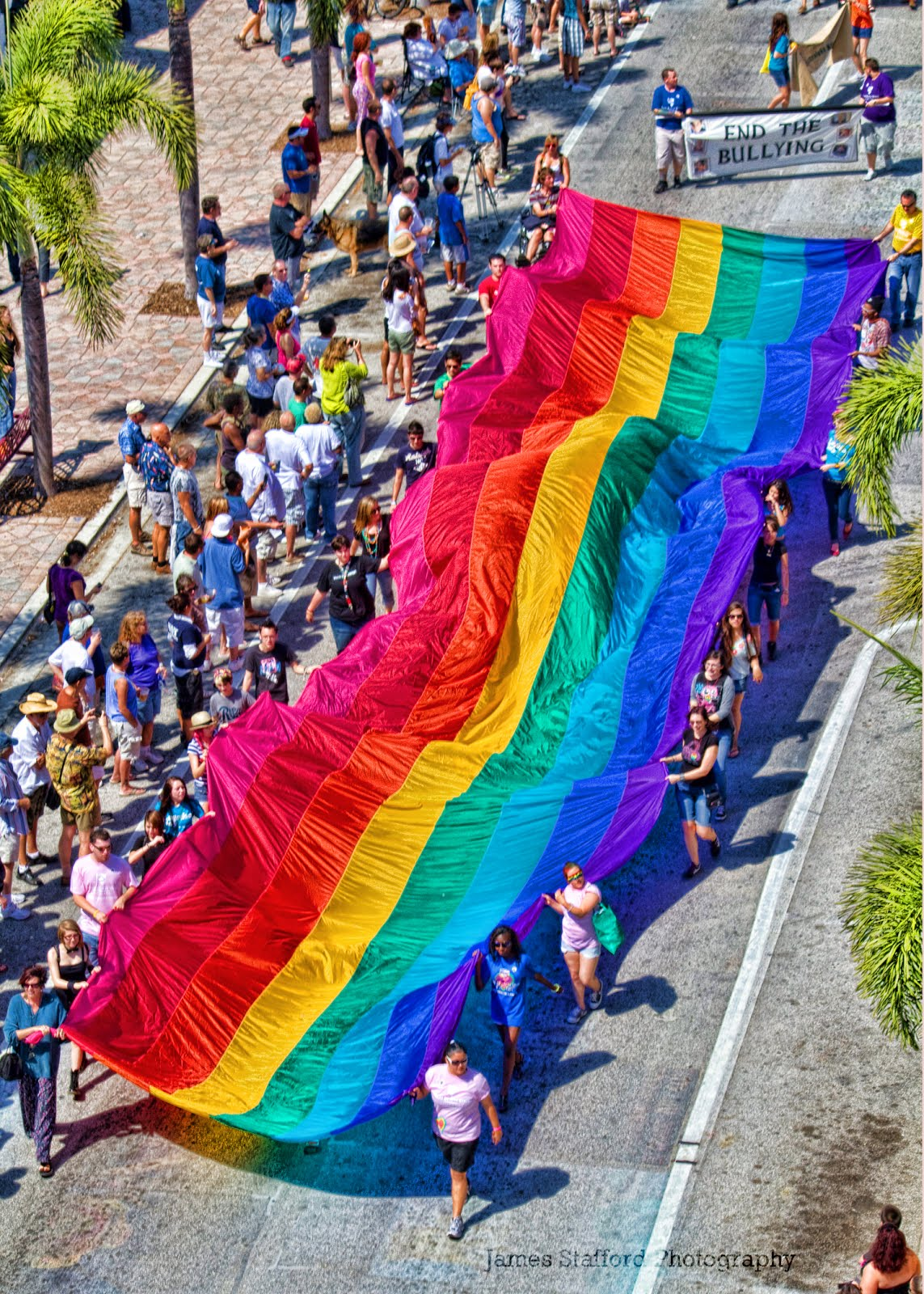 PrideFest Parade, 11:30 tomorrow in Downtown Lake Worthy.