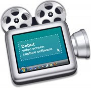 Debut video screen recording software