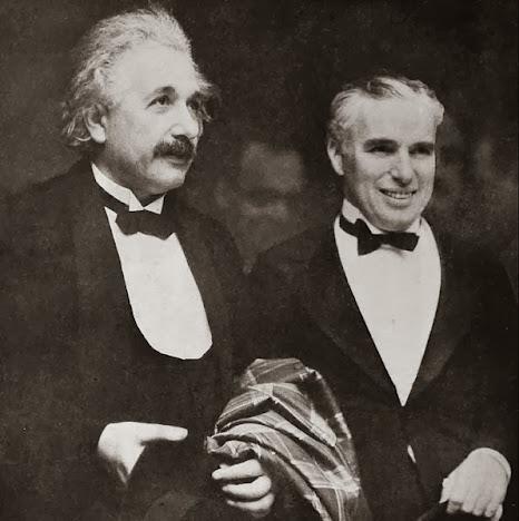 Albert Einstein dan Charlie Chaplin
