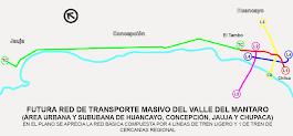 Red del Metro y el Tren de Cercanías