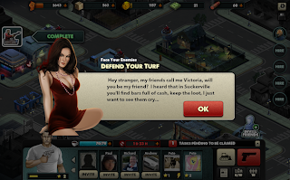 Mobsters Criminal Empires Quest Screen