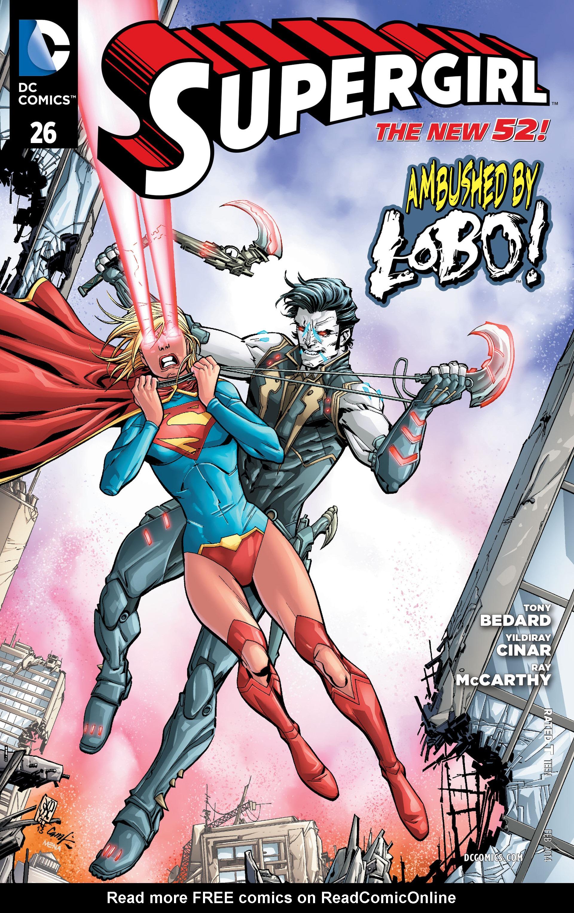 Supergirl (2011) Issue #26 #28 - English 1