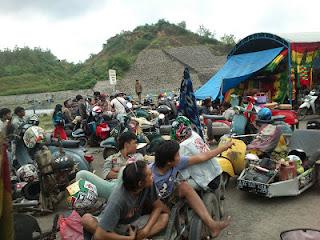 Jambore Vespa 2013 Di Embung Lodan Sarang Rembang