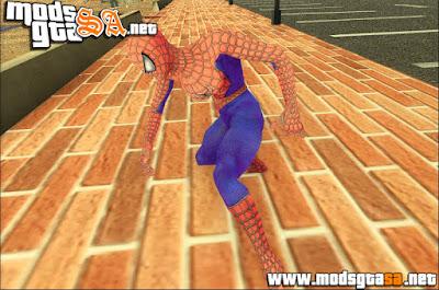 SA - Mod Homem Aranha