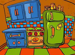 Descripci n la cocina - Cocina dibujo ...
