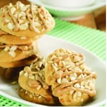 Resep Kue Kacang Glasur Jahe