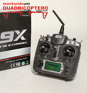 Controle Remoto Turnigy para Quadricoptero