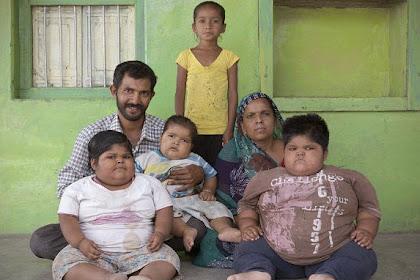 Selamatkan Tiga Anaknya dari Obesitas, Ayah Coba Jual Ginjal