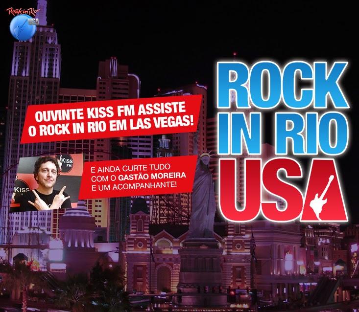 "Concurso Cultural ""Rock in Rio Em Las Vegas Na Kiss Fm """