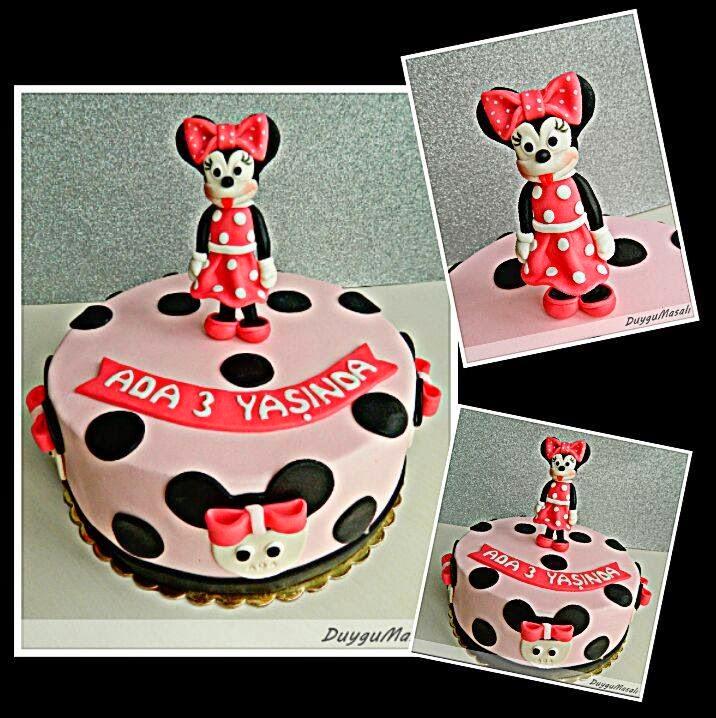 minnie mouse pastası