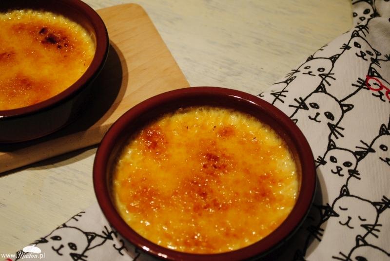 Crème brûlée bez mleka