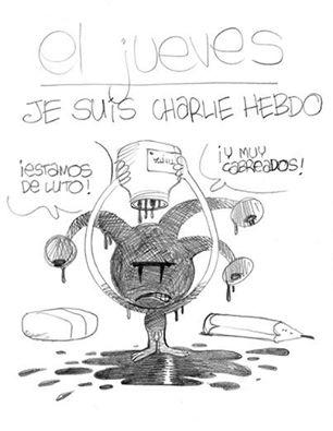 Charlie Hebdo, viñetas, homenaje, yihadistas, atentado,