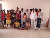 मूक बधिर ,मन्दबुद्धि व अनाथ बच्चों के साथ