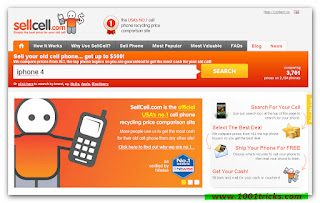 sellcell - sell old phones