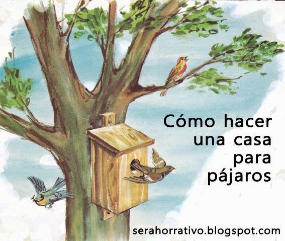ahorrar, hacer tú mismo, casa pájaros
