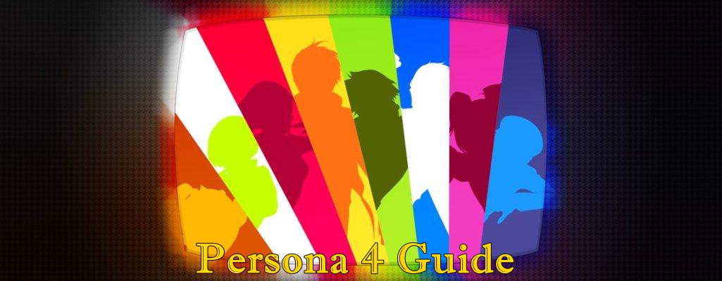 Anime , Persona 4 Guide