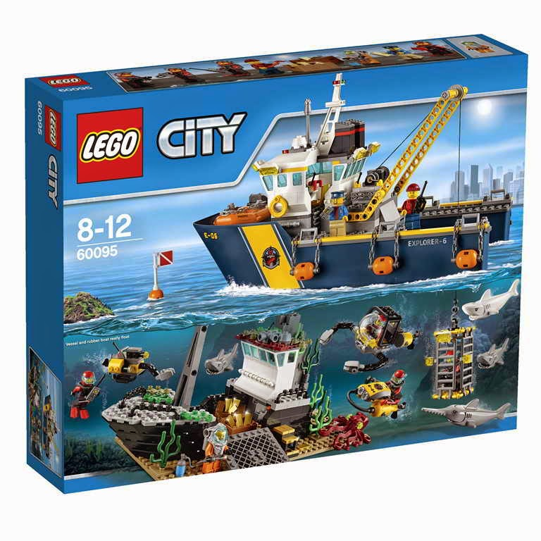 lego gossip 260415 lego 60095 deep sea exploration vessel box art. Black Bedroom Furniture Sets. Home Design Ideas
