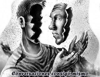 Querido, en aras de la cortesía no siempre puedes decir lo que estás pensando, sin embargo a veces, monologas contigo mismo y estas conversaciones, inconscientemente, las reflejas en tus sentimientos.
