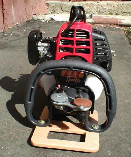 лодочный мотор из триммера своими