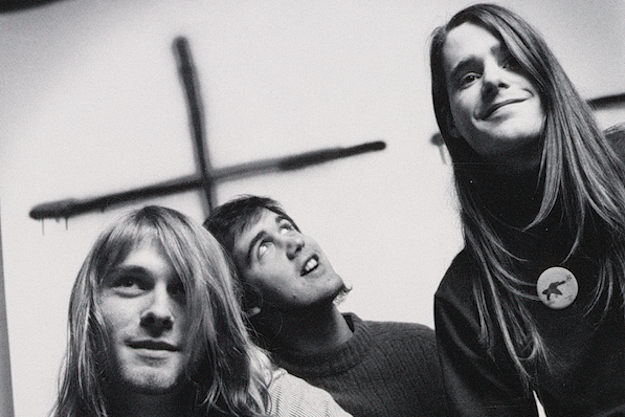 Nirvana Kurt Cobain Krist Novoselic Chad Channing 1989 Bleach