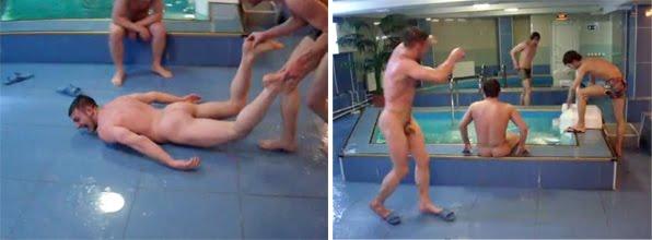 Russian Sauna - Hot Guys