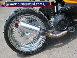 hukuman knalpot motor suara keras