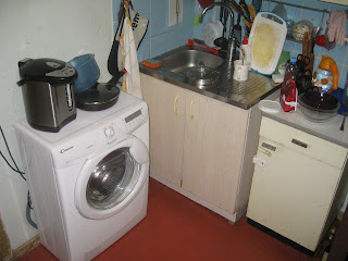 кухня до ремонта - мойка