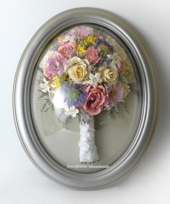 Frame Your Wedding Flowers Wedding Bouquet In A Frame