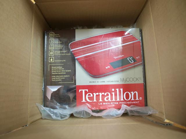 法國 Terraillon My Cook 15 耐壓玻璃板料理電子秤 外盒