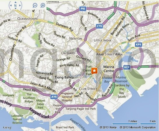 Detail MICAMCI Building Singapore Location Map – Tourist Map Of Singapore City