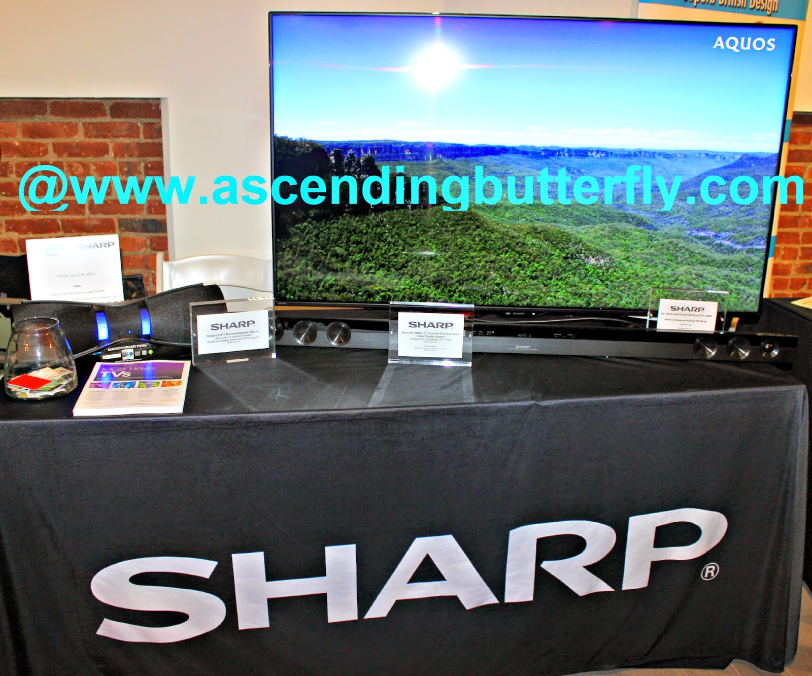 Sharp Aquos Television at GetGeeked NYC