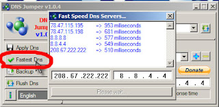 How to check fast DNS server and change DNS server
