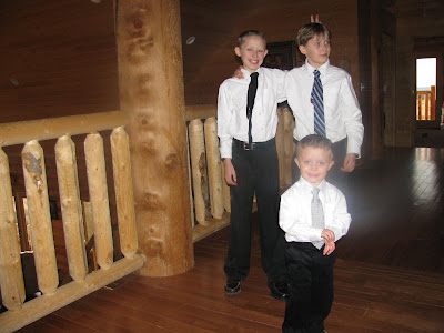 Christian, Carson and Ethan
