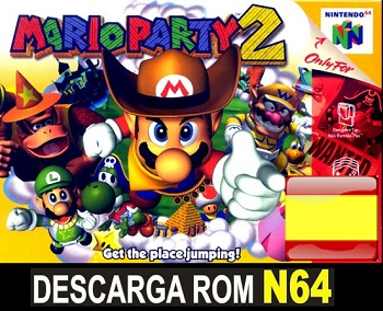 Mario Party 2 ROMs Nintendo64 Español