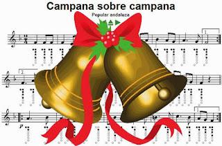 Canciones de Navidad, Campana sobre campana