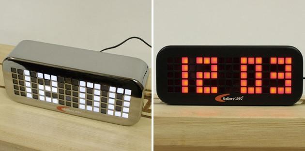 10 amazing and stylish alarm clocks icreatived for Amazing alarm clocks