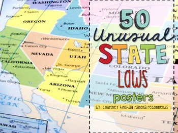 https://www.teacherspayteachers.com/Product/50-Unusual-State-Laws-Posters-2002249