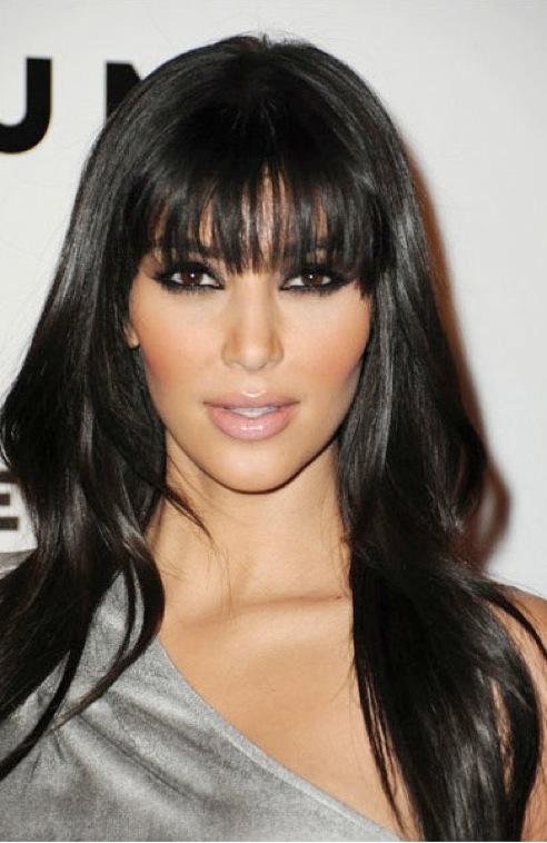 kim kardashian makeup and hair. kim kardashian makeup smokey