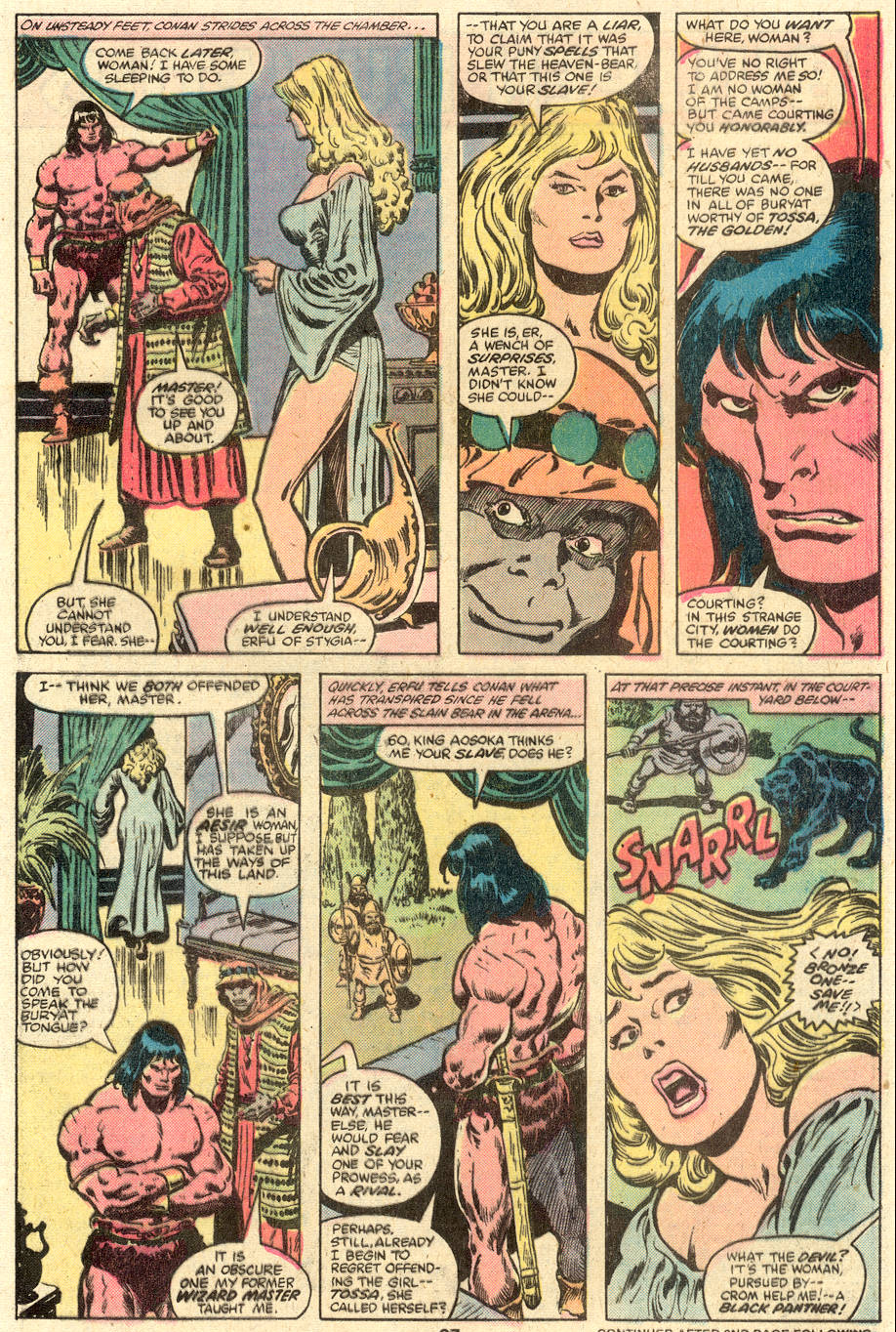 Conan the Barbarian (1970) Issue #110 #122 - English 16