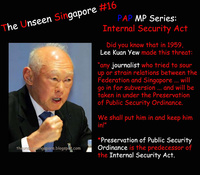 internal security act Has criticized malaysia over the years when the internal security act has been used to stifle domestic opposition, although we distinguish between that use and its current implementation in a counterterrorism context.