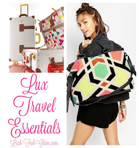 Wanderlust: Absolutely Lux Travel Essentials.