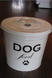 My Knock Off Ballard Dog Food Tin