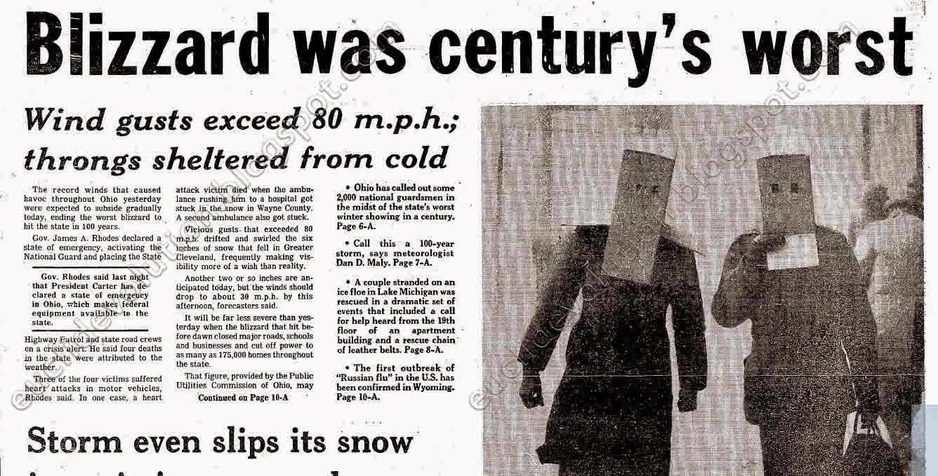 Euclid Evolution Blizzard Of 1978