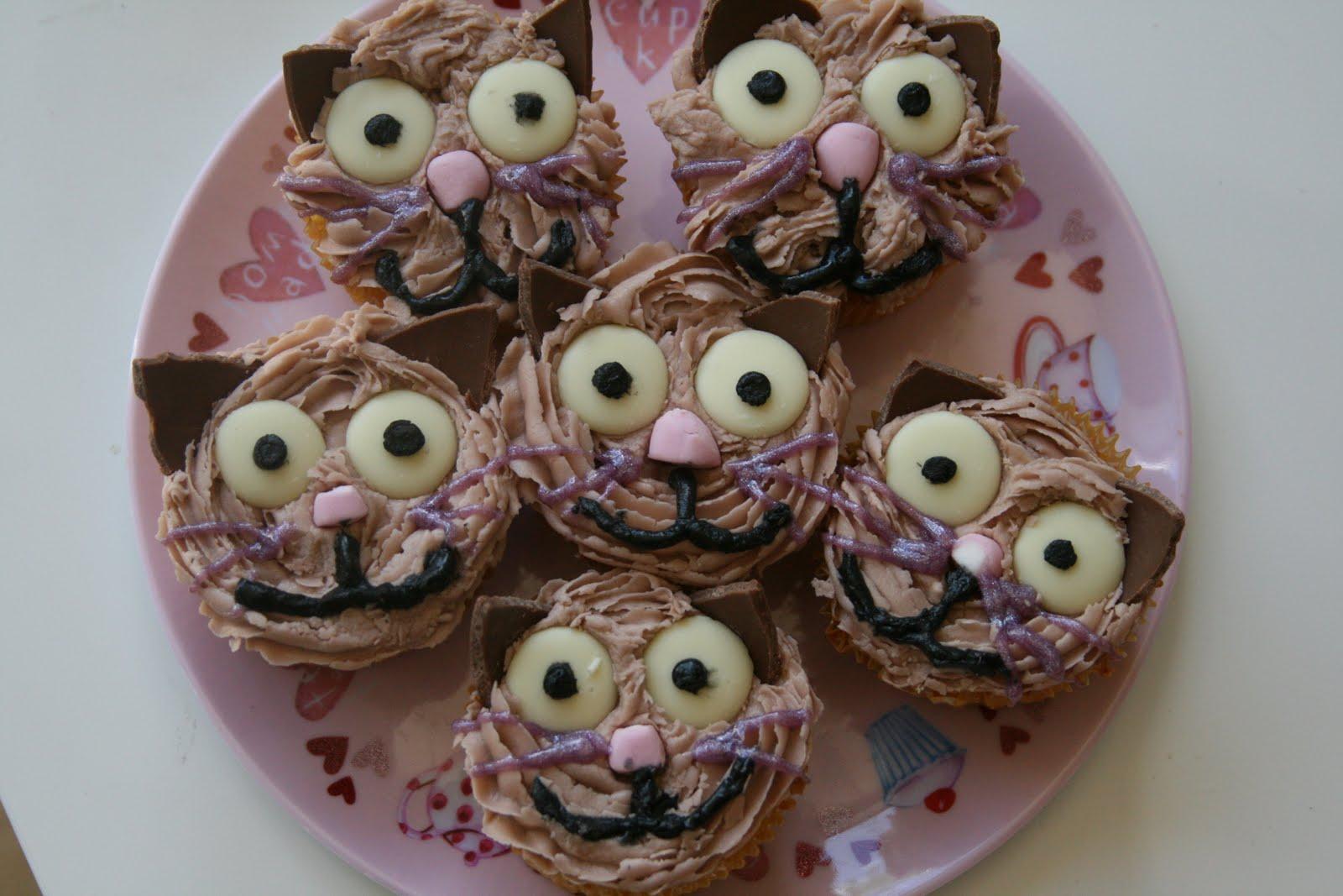 Diy Cat Cupcakes The Imagination Tree