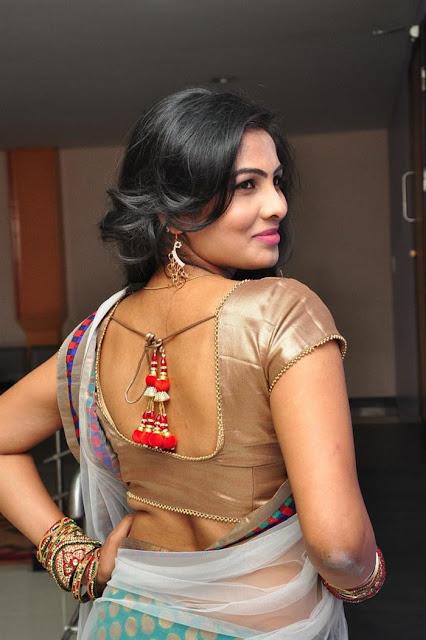 Actress Bhanu Navel Show Photos
