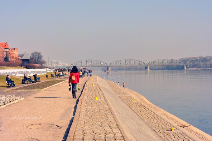 Toruń, most, zdjęcia