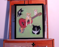 Cats and Guitars Art Show