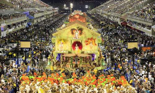 Rio Carnival the biggest party in the world
