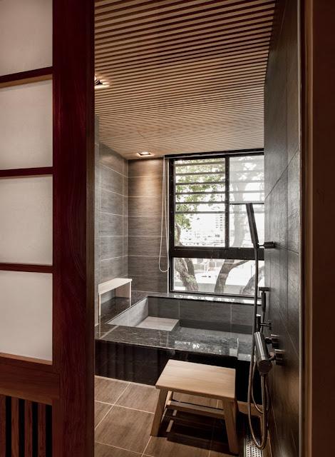 Interior rumah gaya jepang modern 10