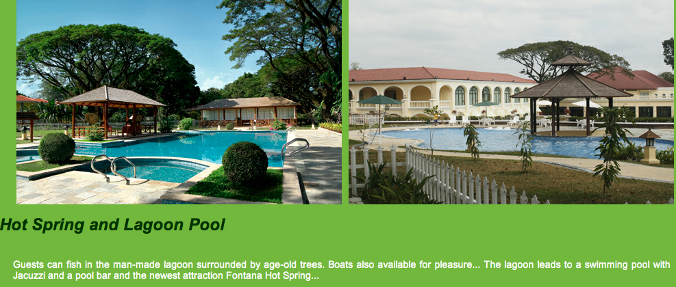 Resorts In Pampanga Philippines Fontana Leisure Parks And Casino In Clark